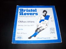 Bristol Rovers v Oldham Athletic, 1977/78